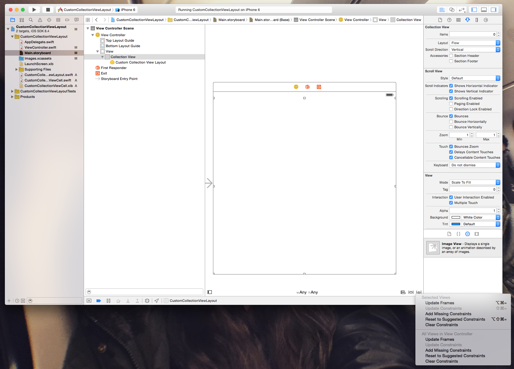 Creating a custom UICollectionViewLayout in Swift – Donny Wals